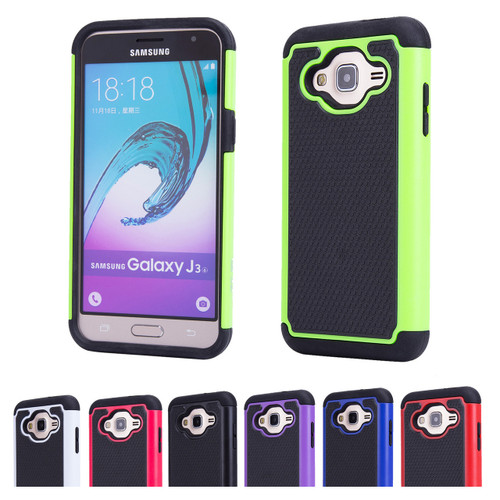32nd dual-layer shockproof Samsung Galaxy J3 2016 Case in a great range of colours.
