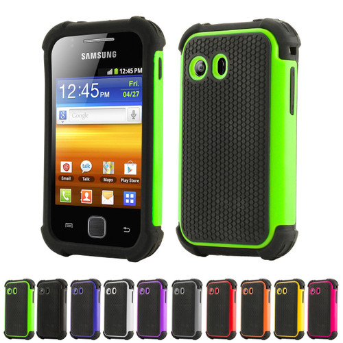 32nd dual-layer shockproof Samsung Galaxy Y Case.