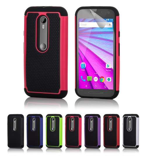 32nd dual-layer shockproof Motorola Moto G4 Plus Case.