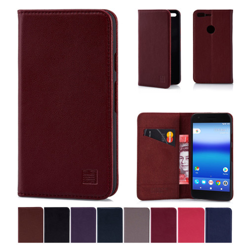 32nd real leather classic wallet Google Pixel Case in a range of fantastic colours.