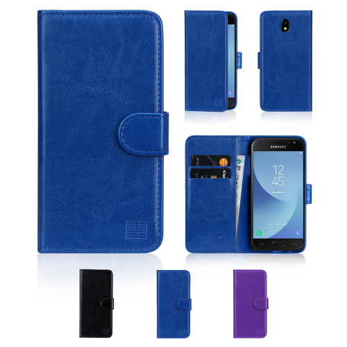 32nd Shop book wallet Samsung Galaxy J3 (2017) Case includes screen protector and stylus.