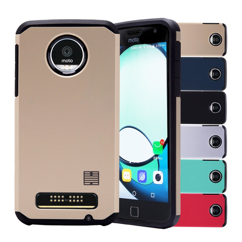 32nd slim shockproof Motorola Moto Z Play Case.