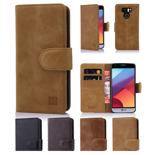 32nd premium leather book wallet LG G6 Case.