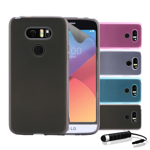 32nd clear gel LG G6 Case.