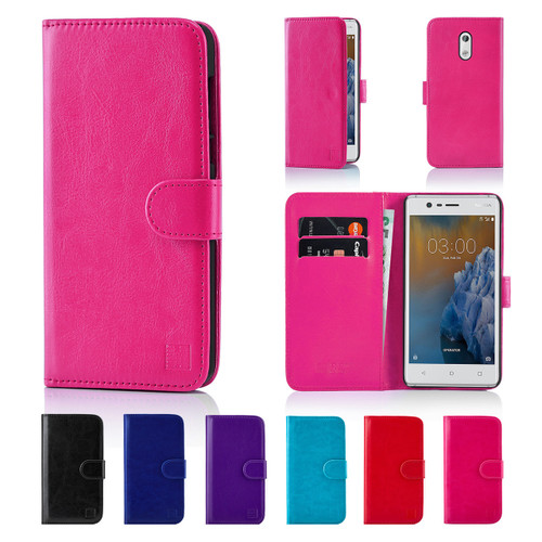 32nd synthetic leather book wallet Nokia 3 (2017) Case.