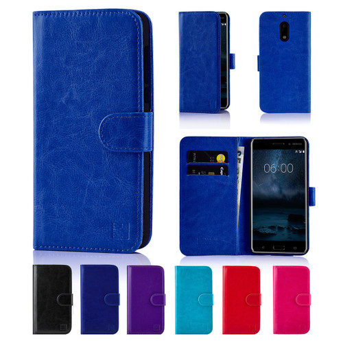 32nd synthetic leather book wallet Nokia 6 (2017) Case.