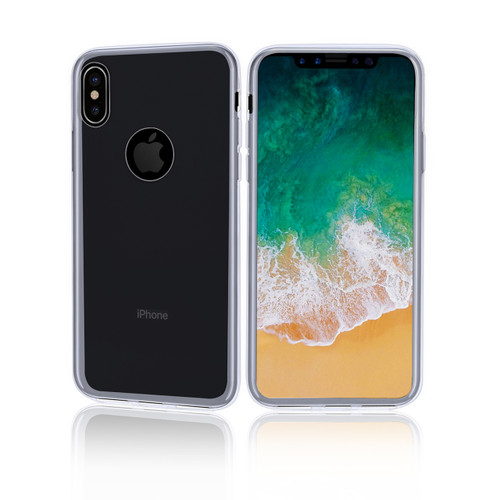 32nd clear gel Apple iPhone X Case.