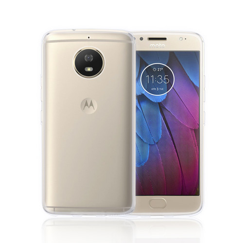 32nd clear gel Motorola Moto G5S Plus Case.