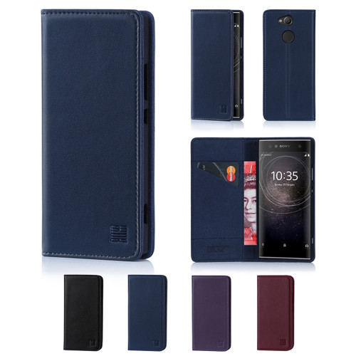 32nd real leather classic wallet Sony Xperia XA2 Case in a range of fantastic colours.