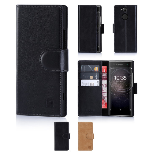 32nd premium leather book wallet Sony Xperia XA2 Case.
