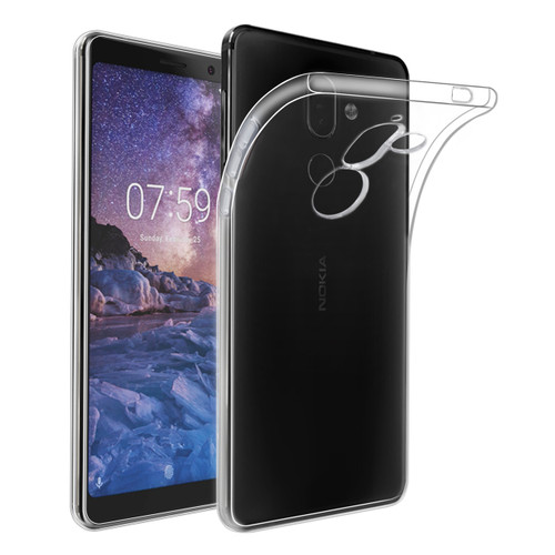 32nd clear gel Nokia 7 Plus (2018) Case.