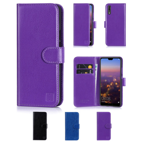 32nd synthetic leather book wallet Huawei P20 Case in a range of colours.