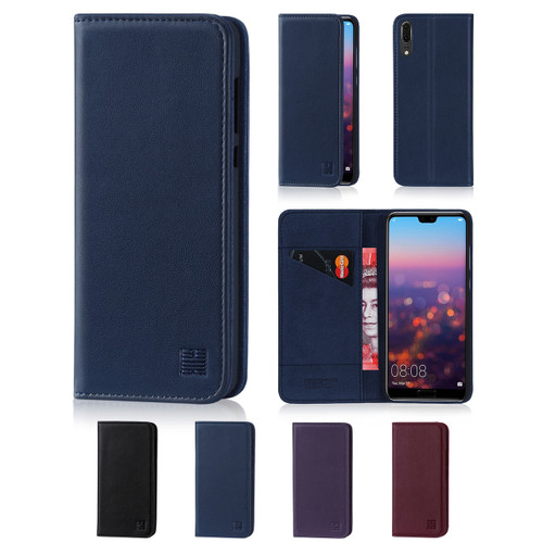 32nd real leather classic wallet Huawei P20 Case in a range of fantastic colours.
