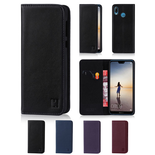 32nd real leather classic wallet Huawei P20 Lite Case in a range of fantastic colours.