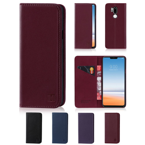 32nd real leather classic wallet LG G7 ThinQ Case in a range of fantastic colours.