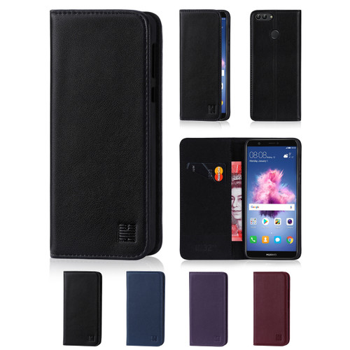 32nd real leather classic wallet Huawei P Smart Case in a range of fantastic colours.