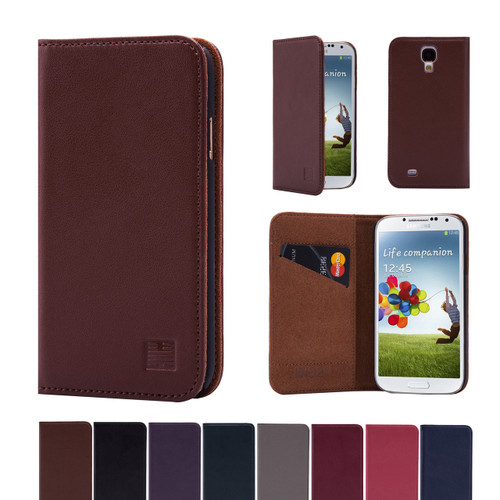 32nd real leather classic wallet Samsung Galaxy S4 Case in a range of colours.