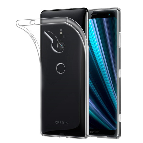 Sony Xperia XZ3 'Clear Gel Series' TPU Case Cover - Clear