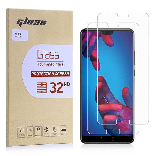 Huawei P20 Tempered Glass Screen Protector - 2 Pack