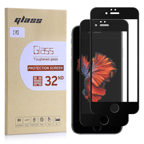 Apple iPhone 6/6S Tempered Glass Screen Protector - 2 Pack