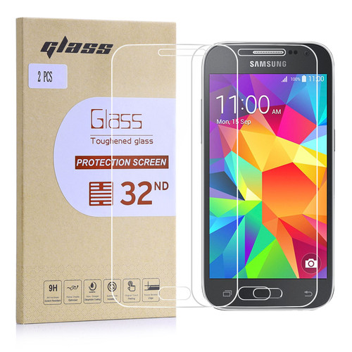 Samsung Galaxy Core Prime Tempered Glass Screen Protector - 2 Pack