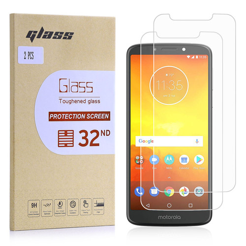 Motorola Moto E5 Tempered Glass Screen Protector - 2 Pack
