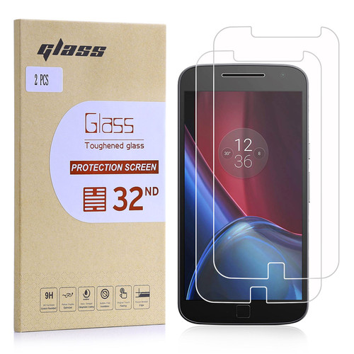 Motorola Moto G4 Plus Tempered Glass Screen Protector - 2 Pack