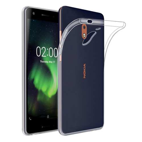 Nokia 2.1 (2018) 'Clear Gel Series' TPU Case Cover - Clear