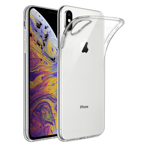 Apple iPhone XS Max 'Clear Gel Series' TPU Case Cover - Clear