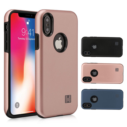 Apple iPhone X / XS 'Hybrid Armour Series' Slim Armour Case Cover