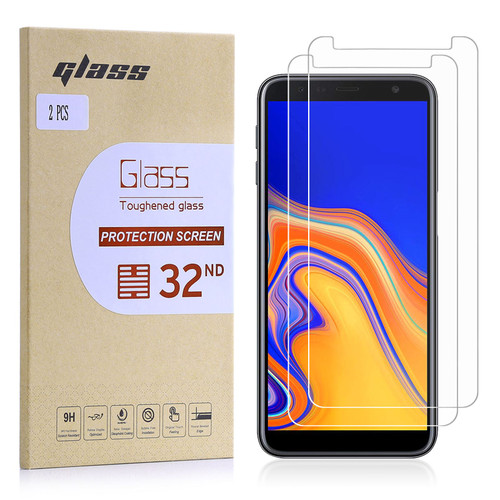 Samsung Galaxy J6 Plus (2018) Tempered Glass Screen Protector - 2 Pack