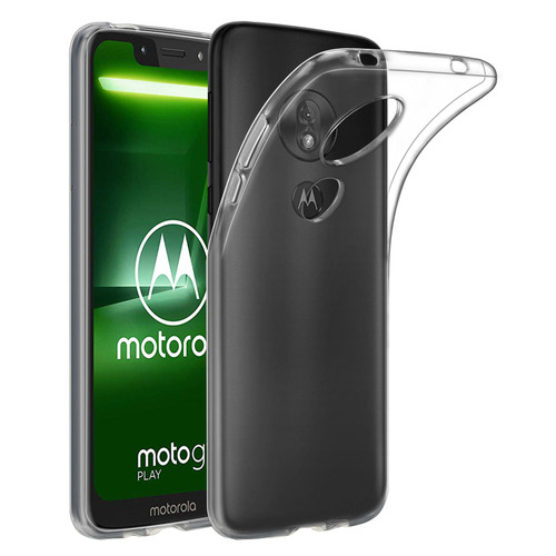 Motorola Moto G7 Play 'Clear Gel Series' TPU Case Cover - Clear