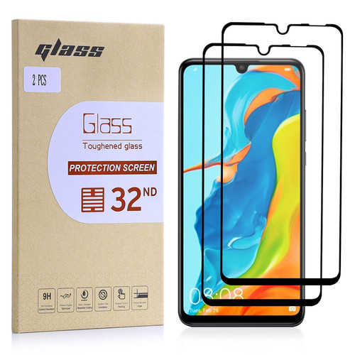 Huawei P30 Lite Tempered Glass Screen Protector - 2 Pack