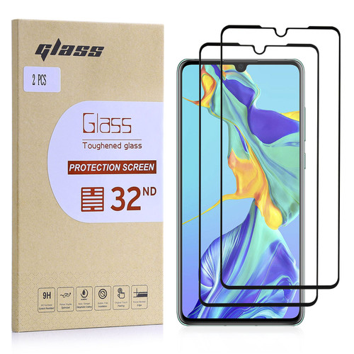 Huawei P30 Tempered Glass Screen Protector - 2 Pack