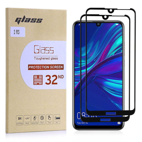 Huawei P Smart (2019) Tempered Glass Screen Protector - 2 Pack