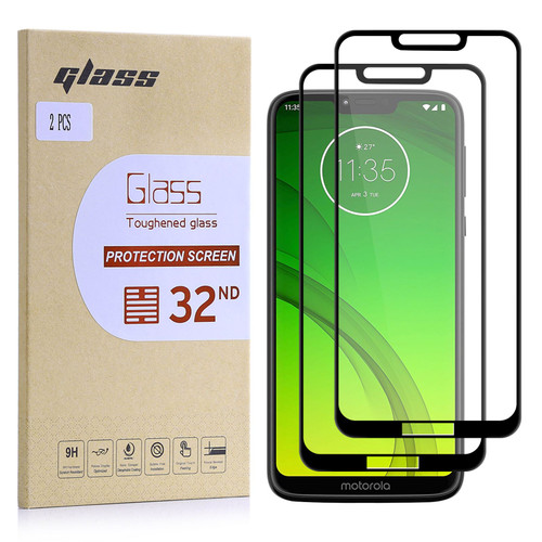 Motorola Moto G7 Power Tempered Glass Screen Protector - 2 Pack
