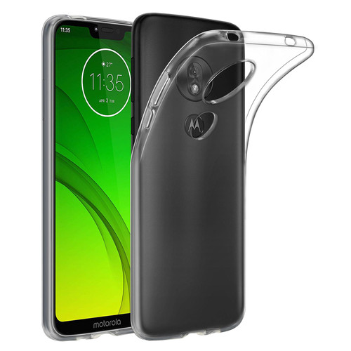 Motorola Moto G7 Power 'Clear Gel Series' TPU Case Cover - Clear
