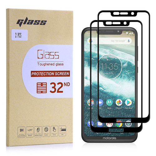 Motorola Moto One (Moto P30) Tempered Glass Screen Protector - 2 Pack