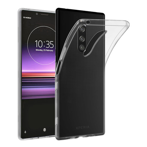 Sony Xperia 1 (2019) 'Clear Gel Series' TPU Case Cover - Clear