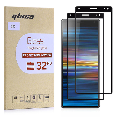 Sony Xperia 10 Plus (2019) Tempered Glass Screen Protector - 2 Pack