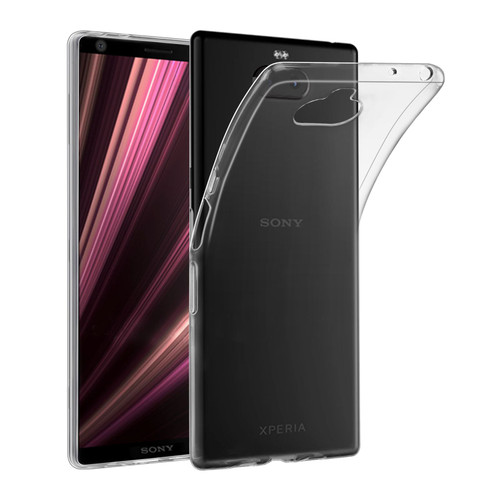 Sony Xperia 10 (2019) 'Clear Gel Series' TPU Case Cover - Clear