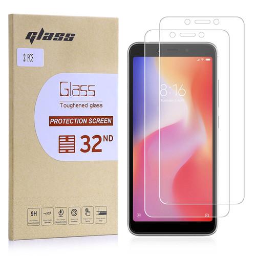 Xiaomi Redmi 6 Tempered Glass Screen Protector - 2 Pack