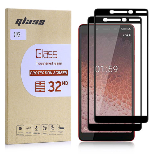 Nokia 1 Plus (2019) Tempered Glass Screen Protector - 2 Pack