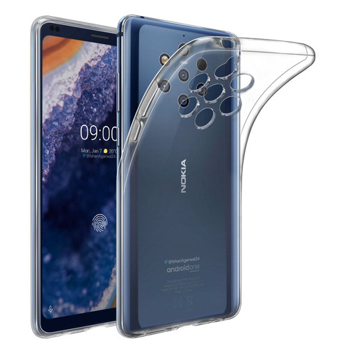 Nokia 9 PureView (2019) 'Clear Gel Series' TPU Case Cover - Clear