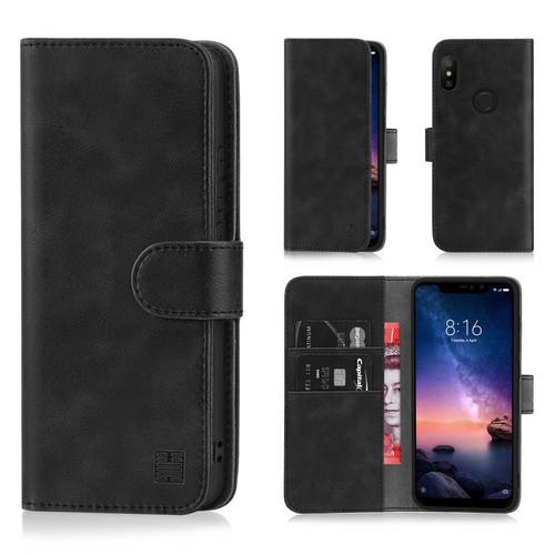 Xiaomi Redmi Note 6 Pro 'Essential Series' PU Leather Wallet Case Cover