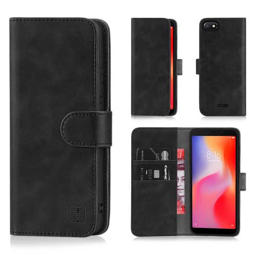 Xiaomi Redmi 6A 'Essential Series' PU Leather Wallet Case Cover