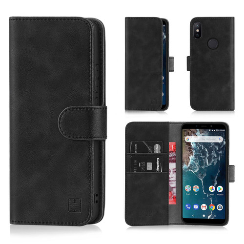 Xiaomi Mi A2 'Essential Series' PU Leather Wallet Case Cover