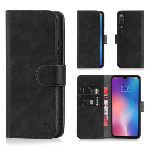 Xiaomi Mi 9 SE 'Essential Series' PU Leather Wallet Case Cover