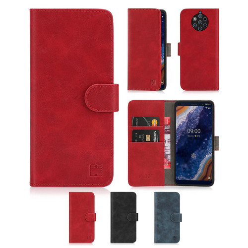 Nokia 9 PureView (2019) 'Essential Series' PU Leather Wallet Case Cover