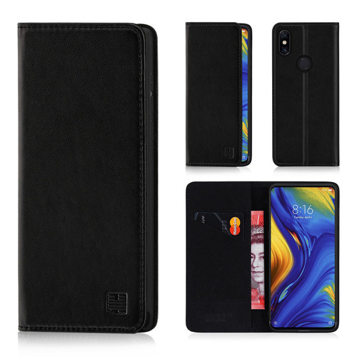 Xiaomi Mi Mix 3 'Classic Series' Real Leather Book Wallet Case